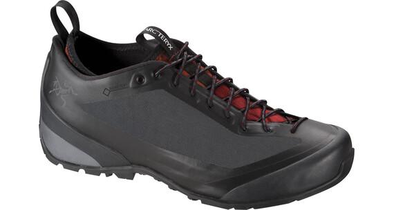 Arcteryx M's Acrux FL GTX Approach Shoe Black/Cajun
